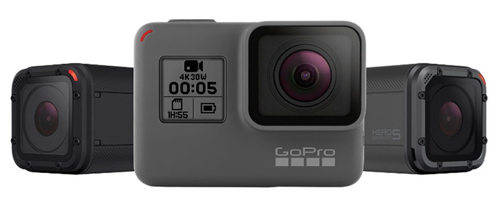 Теперь в продаже: GoPro Hero5 Black