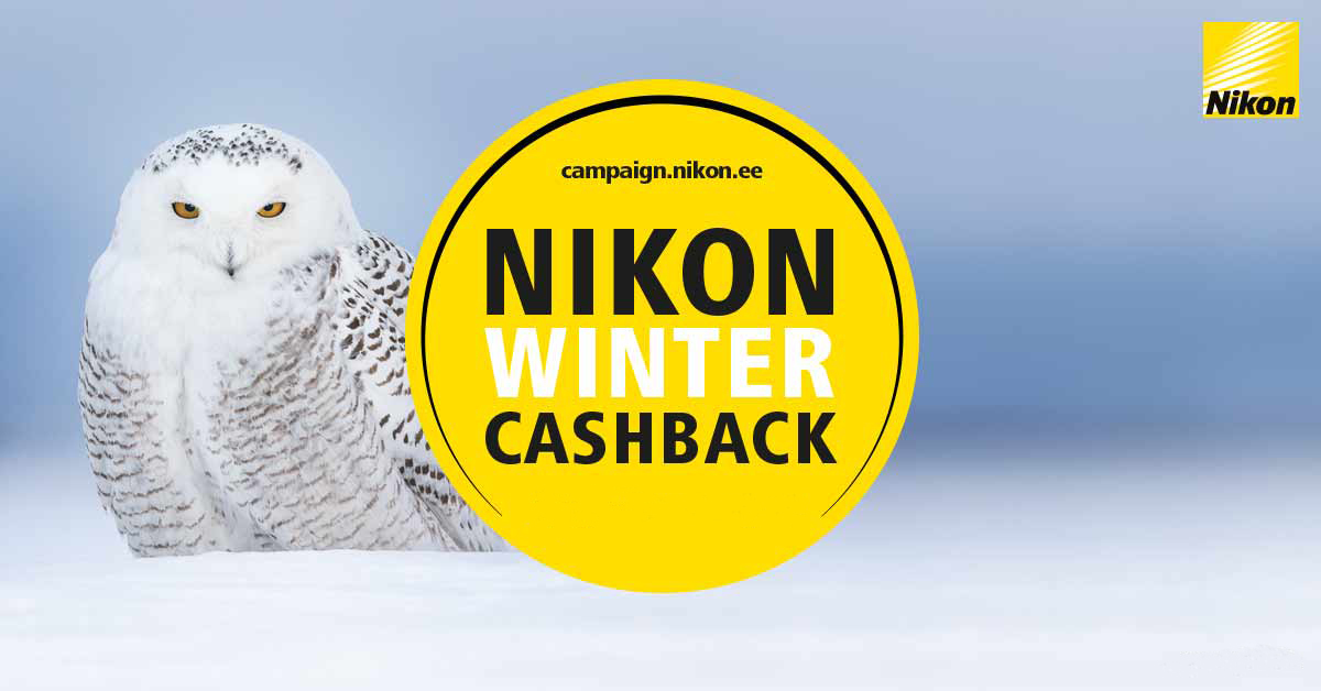 Получи деньги назад с определенных объективов, камер и комплектов Nikon