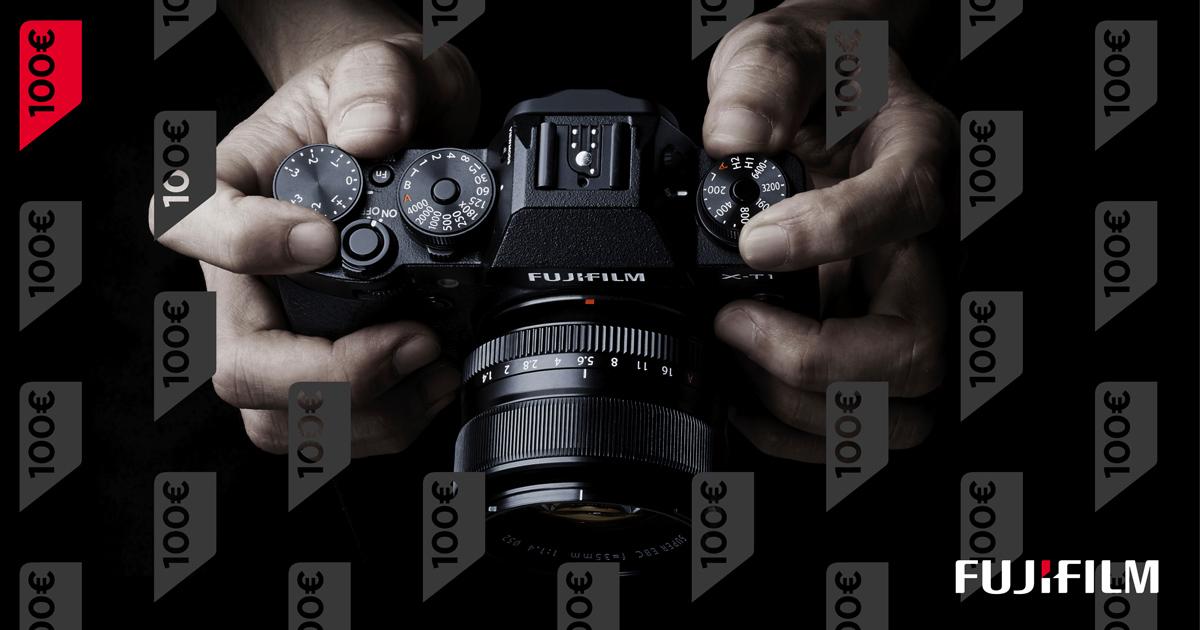 Кампания продолжается: купи комплект гибридной камеры Fujifilm и дополнительный объектив и получи отличную скидку