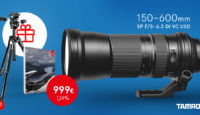 Получи отличные подарки при покупке телеобъектива Tamron SP 150-600mm