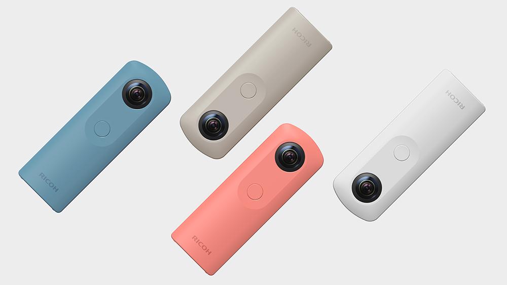 Официально представлена 360 градусная камера Ricoh Theta SC
