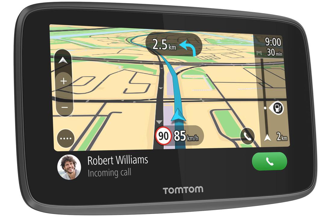 Теперь в продаже: GPS навигаторы TomTom GO 620 & GO 520