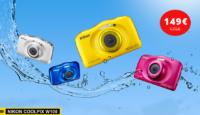 Nikon Coolpix W100 - компактная камера с защита от воды и падений, теперь по хорошей цене