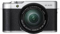Первые снимки новой беззеркальной камеры Fujifilm X-A10
