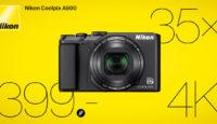 Nikon Coolpix A900 - теперь доступна по дружелюбной цене