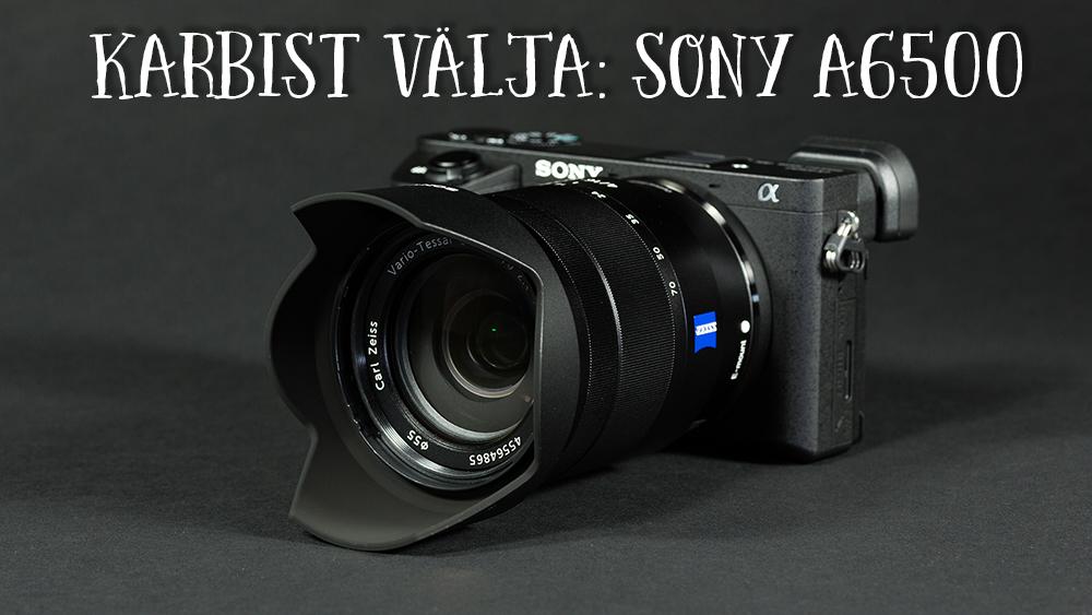 Что в коробке: беззеркальная камера Sony a6500