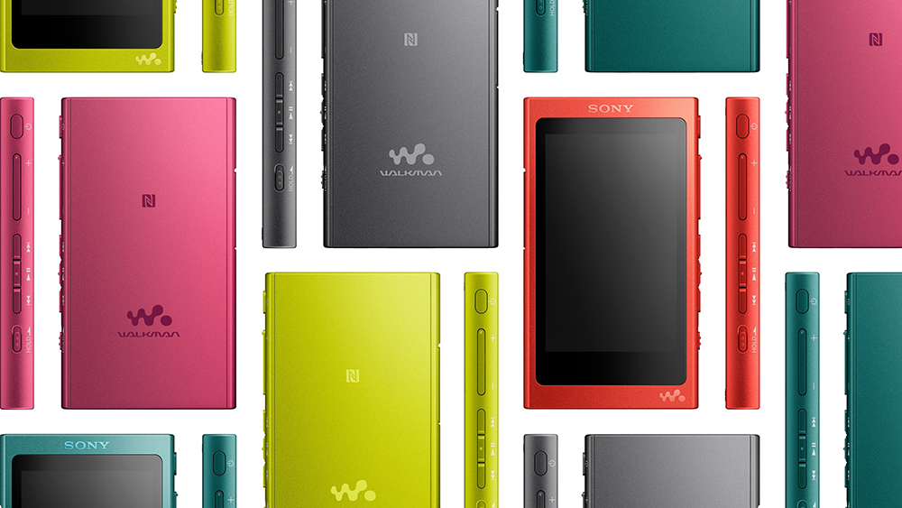 Портативный mp3 плеер Sony Walkman NW-A35 тебя не подведет