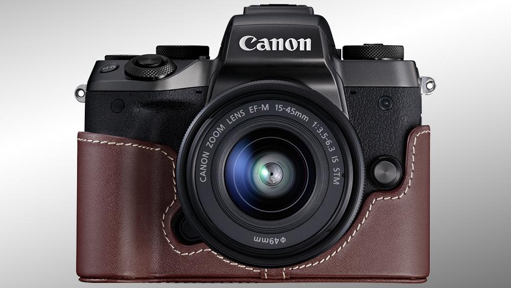 Теперь в продаже: Canon EOS M5