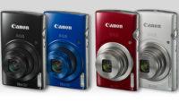Теперь в продаже: Компактные камеры Canon Ixus
