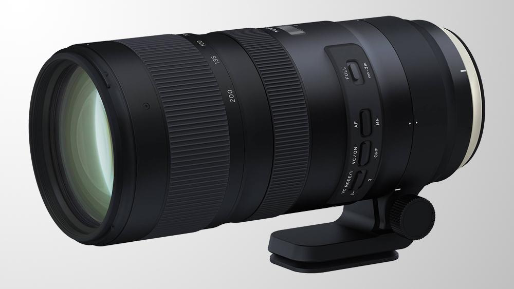 Теперь в продаже: Tamron SP 70-200mm f/2.8 Di VC USD G2