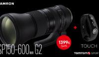 Tamron SP 150-600 G2 теперь по скидке + подарок в придачу