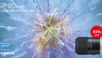 Tamron SP 90mm f/2.8 Di VC USD в сентябре по особой цене