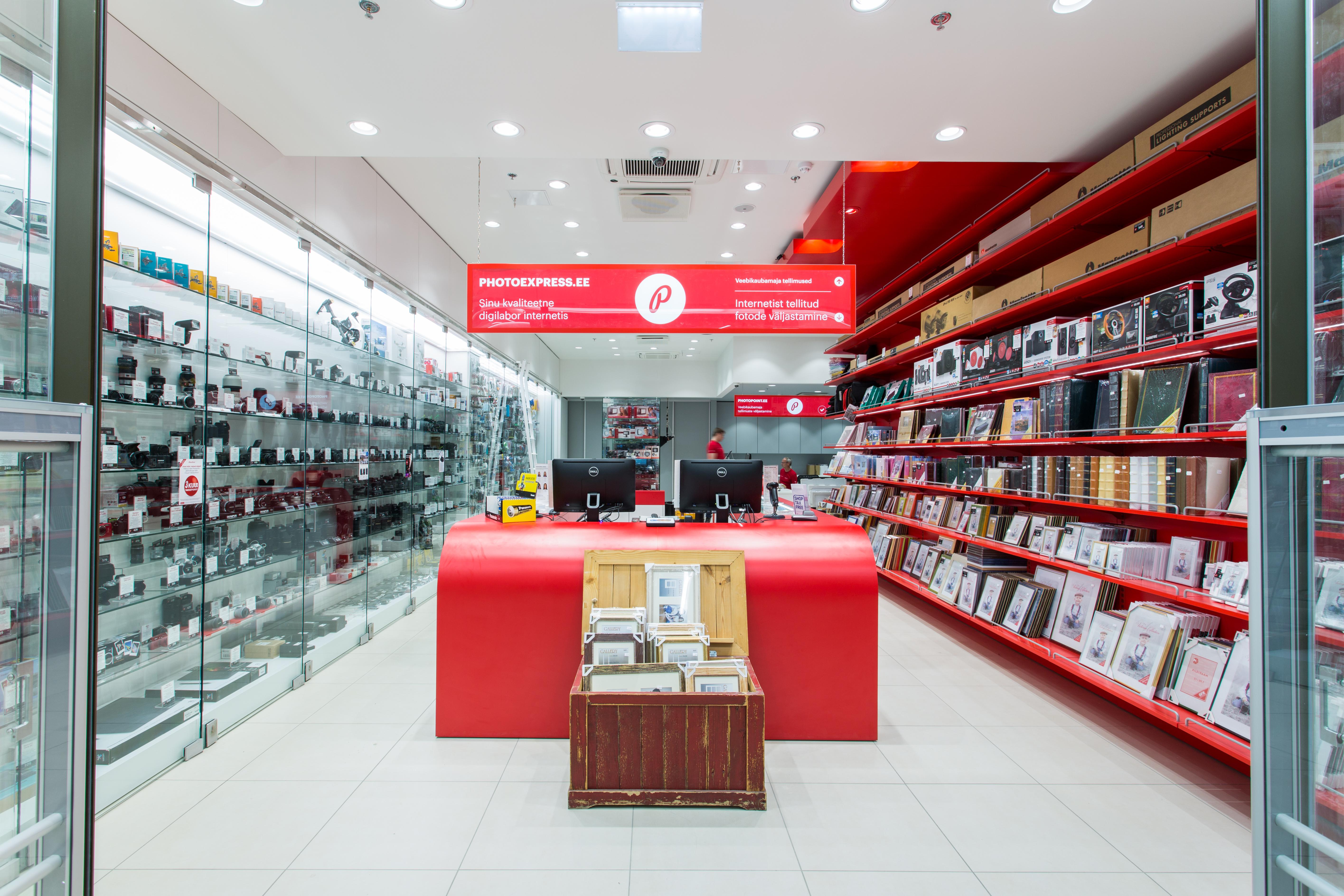 В магазине Photopoint, в торговом центре Kvartal - скидки на все фотоуслуги