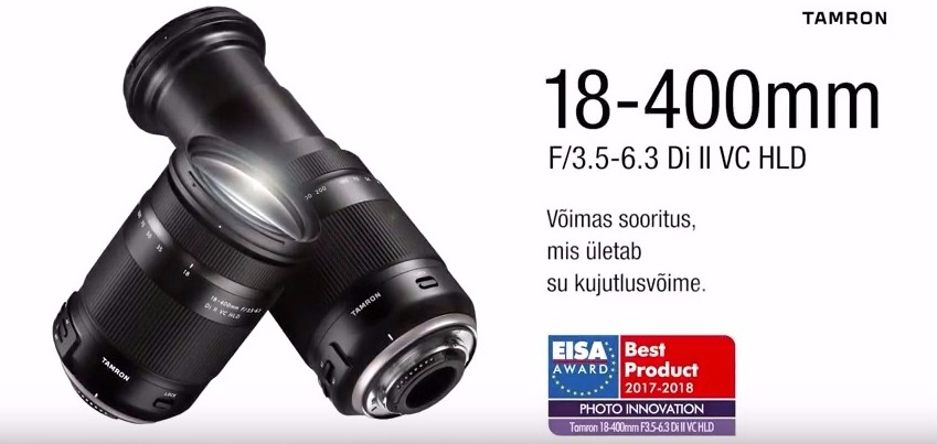 Смотри видео: Tamron 18-400 мм f/3.5-6.3 Di II VC HLD – удиви своё воображение!