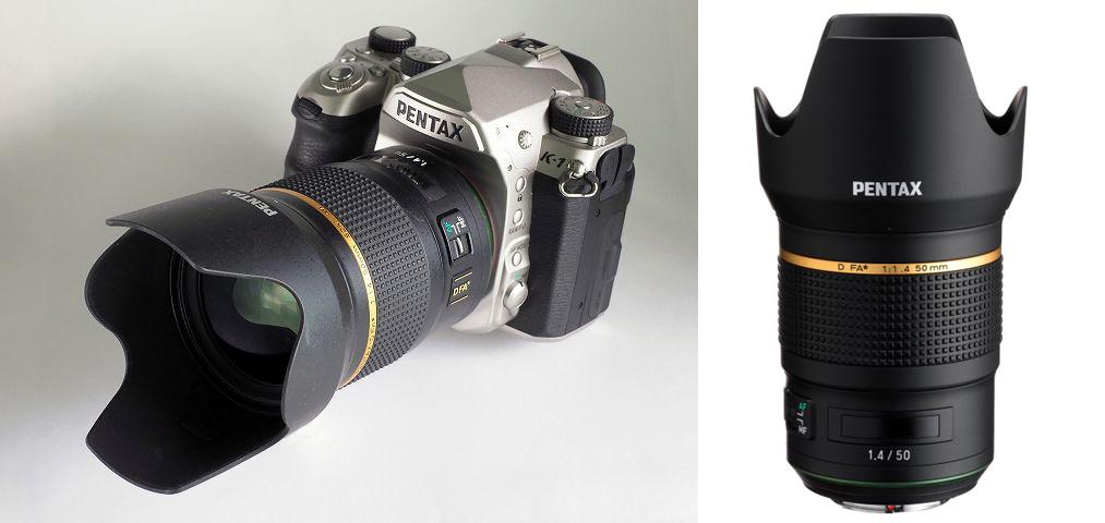 Новый объектив HD Pentax-D FA 50mm f/1.4 SDM AW уже этой весной