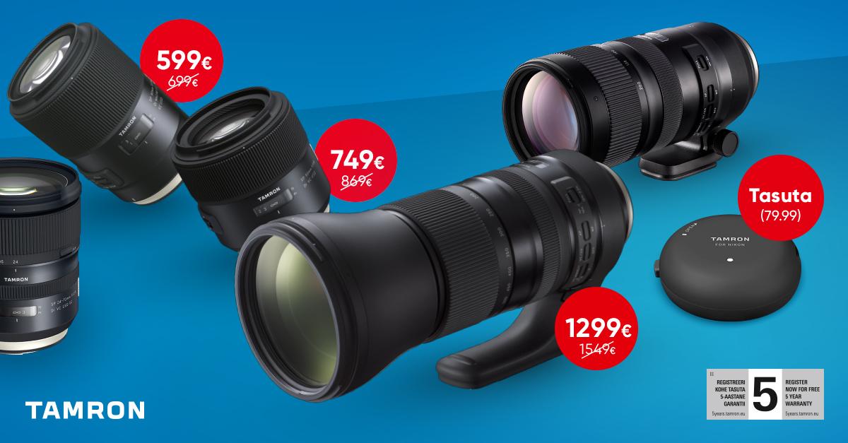 К кампании Tamron TAP-in присоединились: SP 24-70 мм f/2.8 и SP 70-200 мм f/2.8