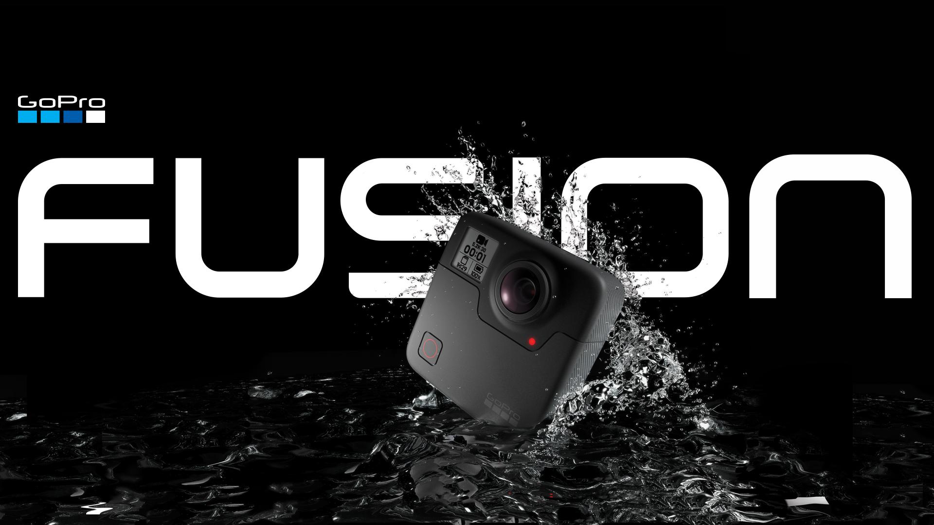 Теперь в наличии: экшен-камера GoPro Fusion 360°