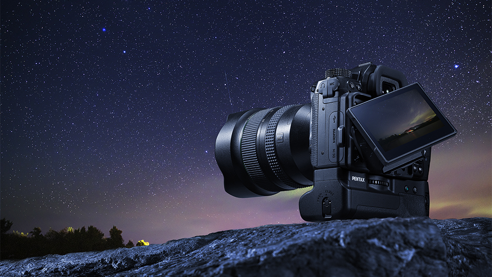 Теперь в наличии: зеркальная камера Pentax K-1 Mark II