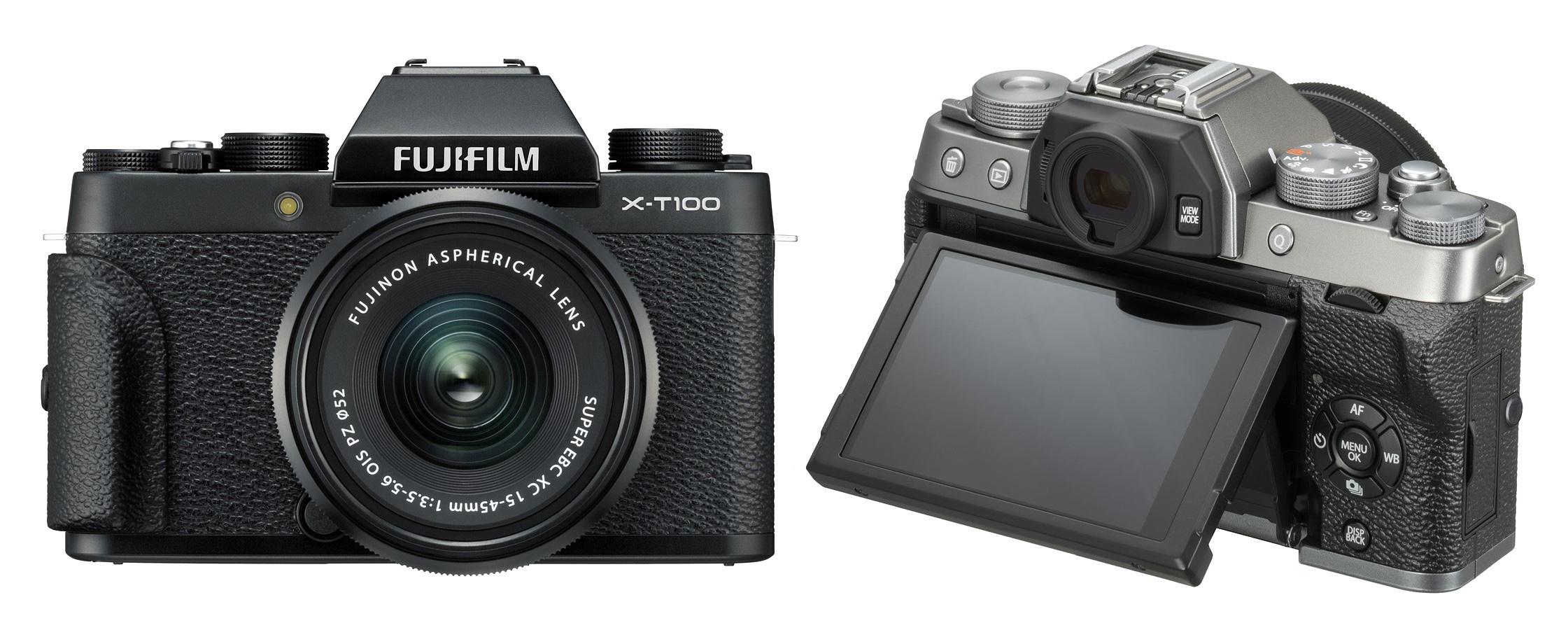 Теперь в наличии: беззеркальная камера Fujifilm X-T100