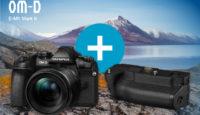 Также в июне: при покупке беззеркальной камеры Olympus — батарейный блок в подарок