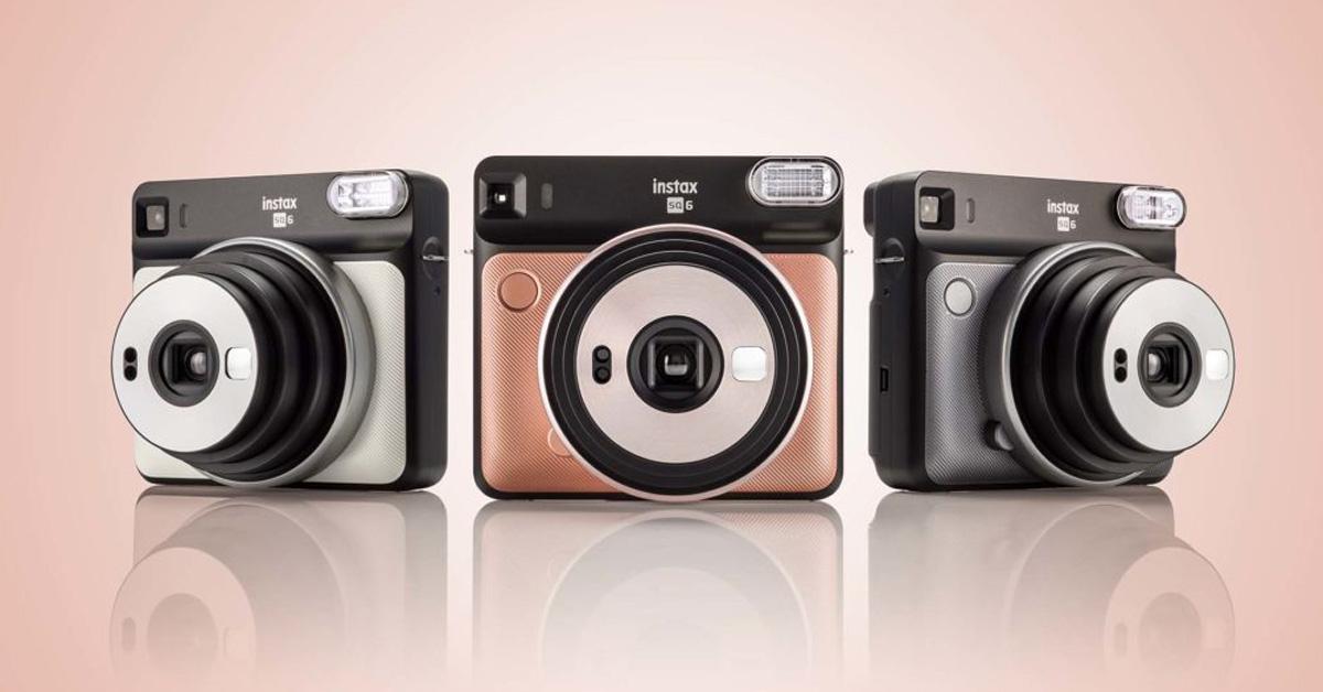 Fujifilm Instax SQUARE SQ6 теперь доступен по дружеской цене!