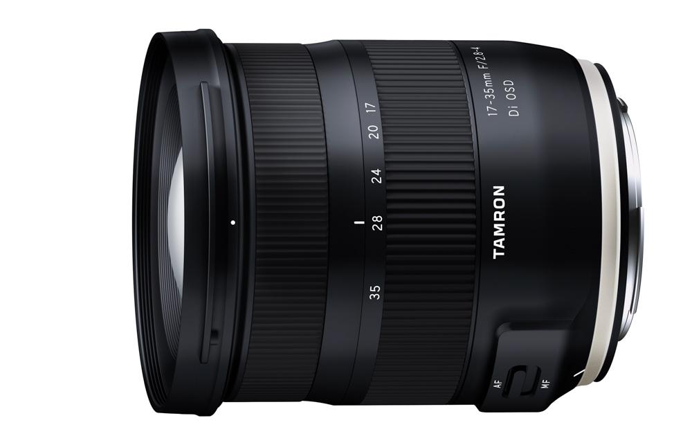 Теперь в наличии: широкоугольный объектив Tamron 17-35 мм f/2.8-4 для зеркальных камер Nikon