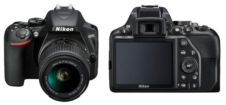 Теперь в наличии: зеркальная камера Nikon D3500