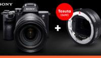 С купленной профессионального класса беззеркальной камерой Sony получишь подарок