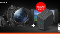 Покупай профессиональную видеокамеру Sony 4K и получишь в подарок функциональные устройства