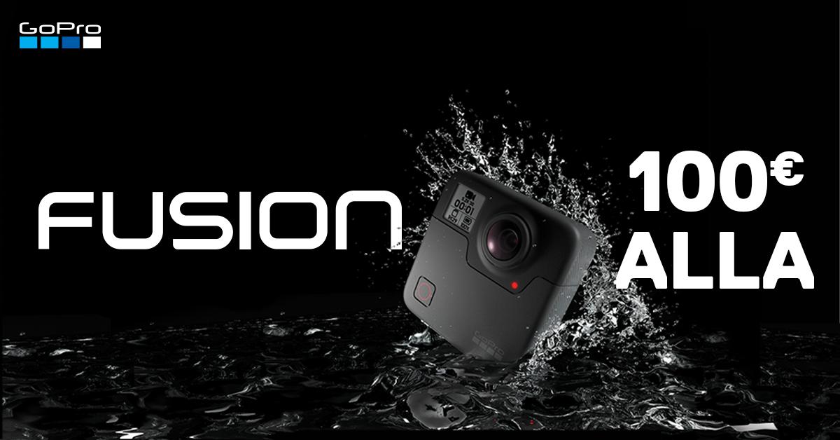 Запечатли момент вокруг себя – камера GoPro Fusion 360° -100€