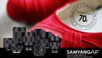 При покупке выбранного объектива Samyang AF получишь 30-70€ назад