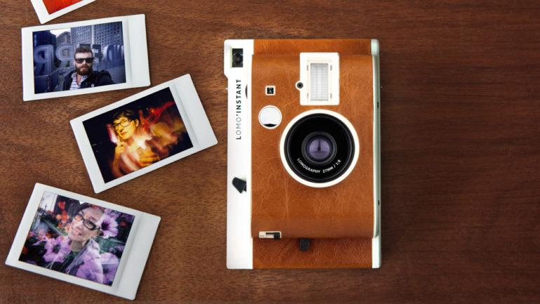 .Теперь доступна: компактная мгновенная камера Lomography Lomo'Instant Mini