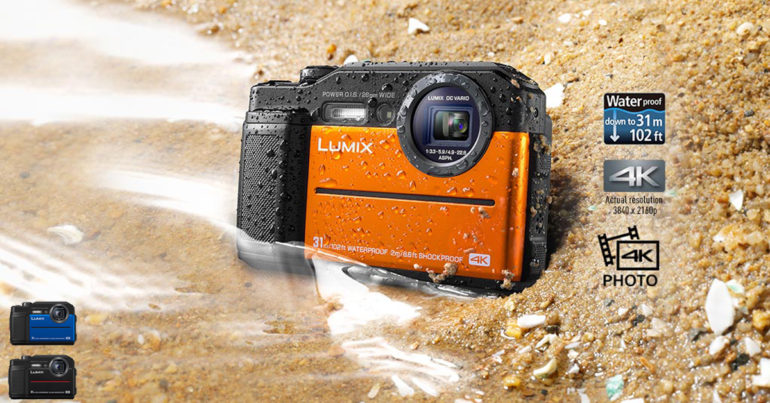 Экшн-камера Panasonic Lumix DC-FT7 на...