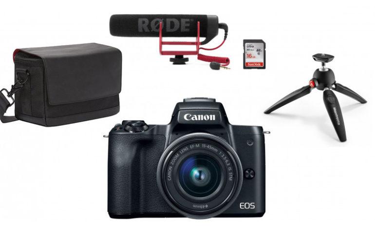 Photopoint советует: это идеальный комплект для начинающего ютубера или блогера