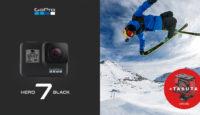 В подарок к GoPro HERO7 Black получишь супер чехол