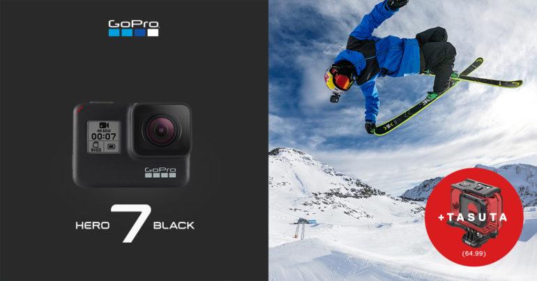 .В подарок к GoPro HERO7 Black получишь супер чехол