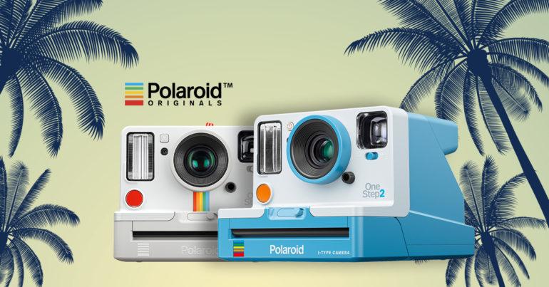 Теперь доступны в новых цветах Polaroid OneStep VF и OneStep+