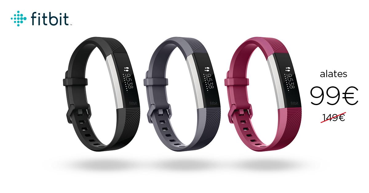 Cкидка на стильный трекер активности Fitbit Alta HR. Цены от 99€