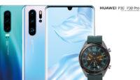 При покупке новейшего Huawei P30 или P30 Pro получишь в подарок смартчасы