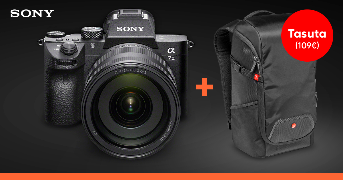 Ты этого достоин - при покупке камеры серии Sony a7 получишь вместительный подарок