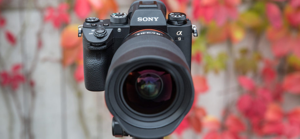 Принеси свою старую цифровую камеру и получи Sony a9 на 300€ дешевле