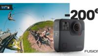 Запечатлейте все вокруг себя - камера GoPro Fusion 360° -200€