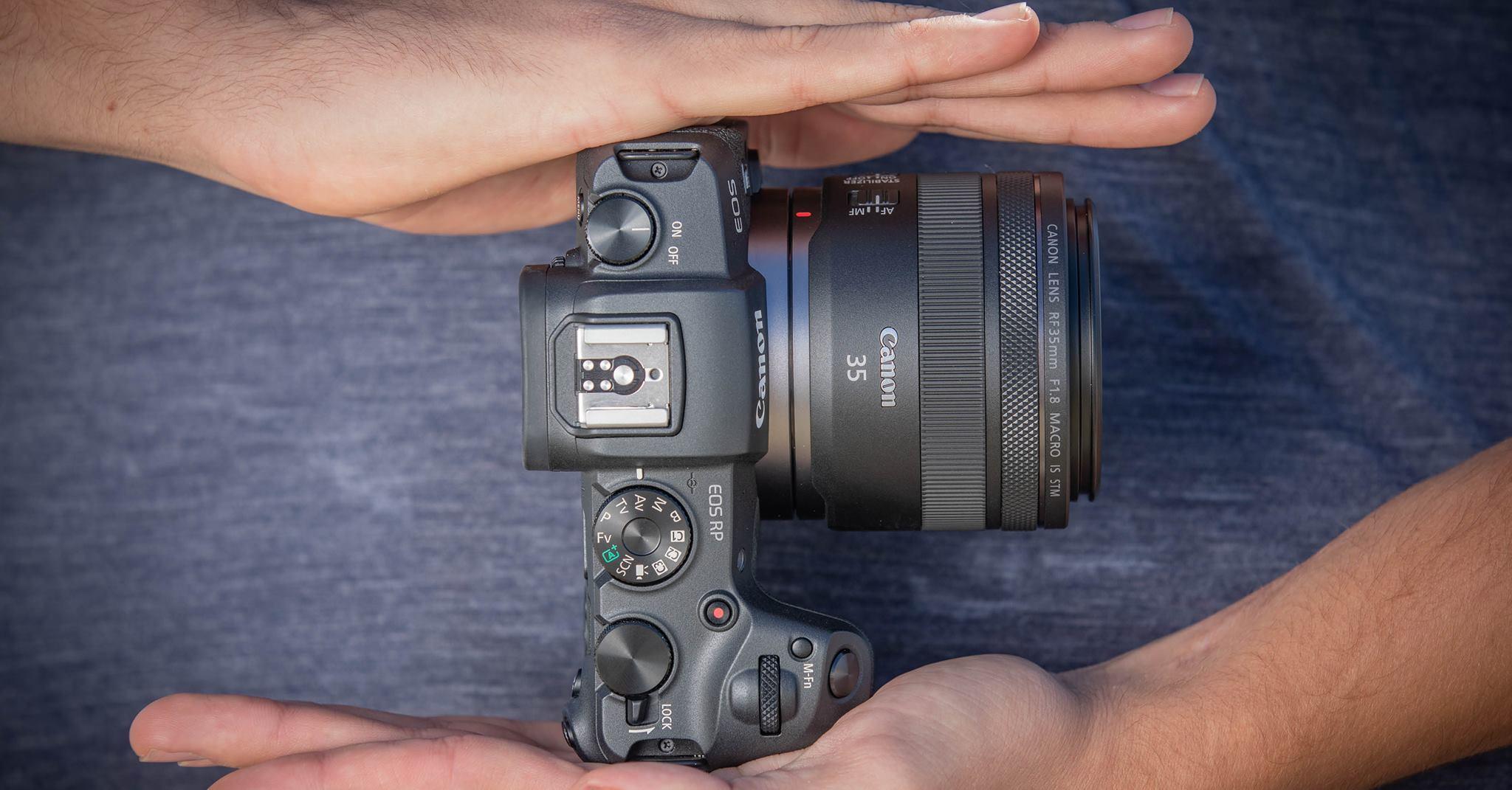 Полнокадровая беззеркальная камера Canon EOS RP - идеальный спутник в поездках