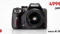 Комплект Pentax K-70 + DA 18-55 мм WR в продаже по невероятной цене
