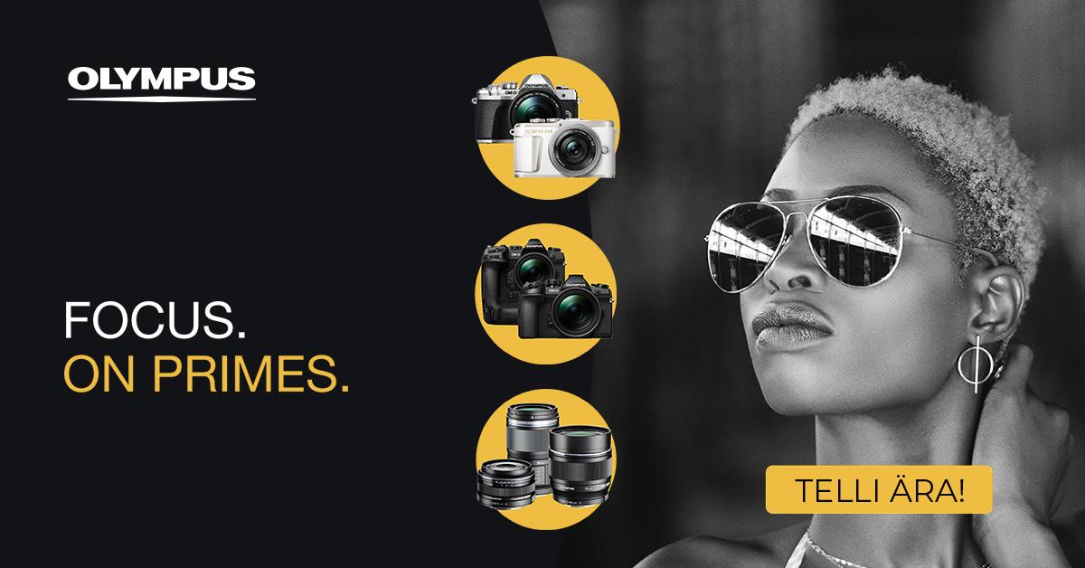Фототехника Olympus в рождественский период в продаже по льготной цене