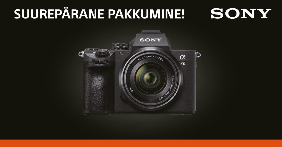 #blackfriday: эти специальные предложения на камеры Sony действуют только с 26 ноября по 1 декабря