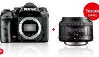 При покупке флагмана зеркальных камер Pentax K-1 II получите подарок стоимостью 349€