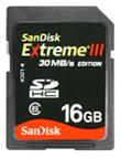 SanDisk esitleb maailma kiireimat SDHC mälukaarti