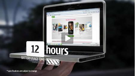 Nokia esitleb kauaoodatud pisikest sülearvutit: Booklet 3G