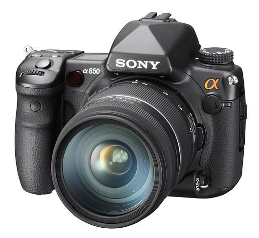 Sony uued digipeeglid α500, α550 ja täiskaadersensoriga α850